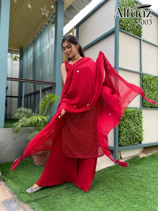 Alfaaz 2 Georgette Festive Wear Latest Designer Salwar Kameez Collection