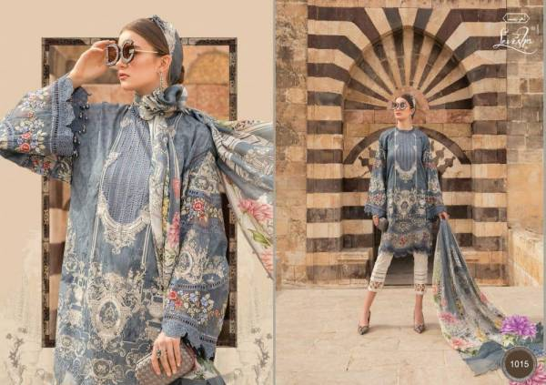 Levisha Maria B Lawn 2 Designer Festive Wear Lawn Cotton Pakistani Salwar Kameez Collection