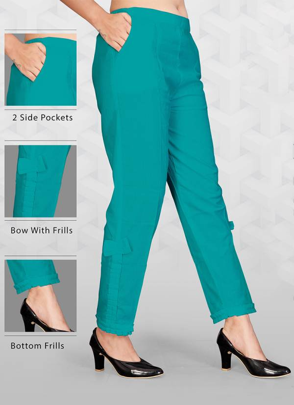 New Designer and Party wear Flex Cotton Pants Collection