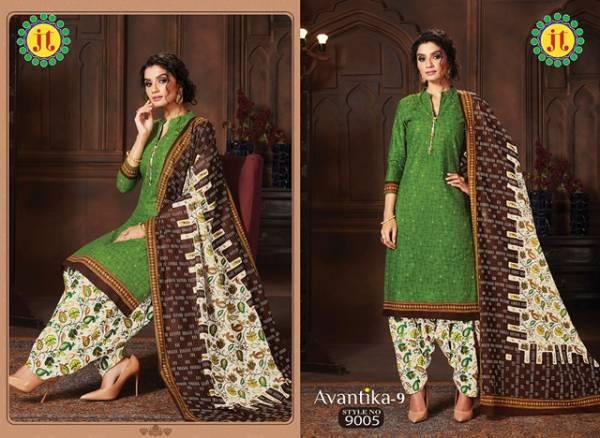 Jt Avantika 9 Casual Printed Regular Wear Pure Cotton Collection