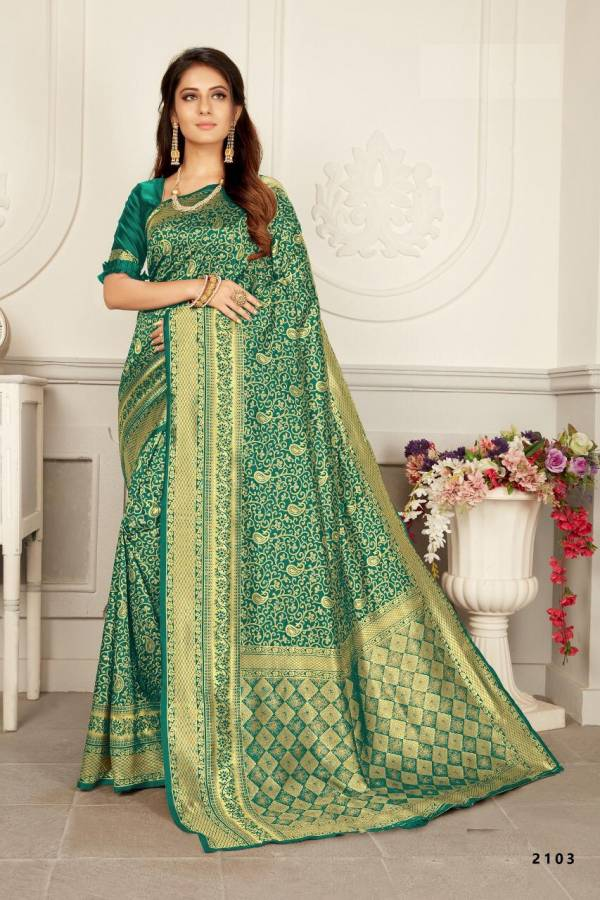 New Bridal Party wear and Designer Wedding Saree Collection with Rich Look Pallu and Beautiful Border Woven Silk Saree Collections