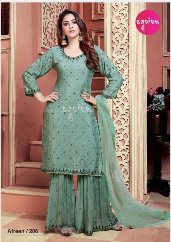 Lapink Afreen 2 Georgette fancy Festive Wear Latest Designer Ready Made Collection