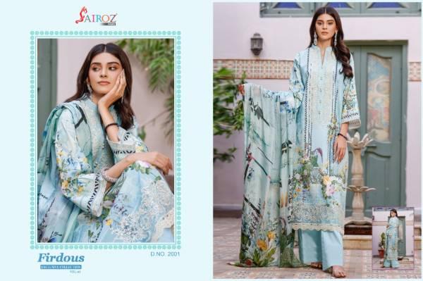 Sairoz Firdous 3 Premium Limited Edition Festive Wear Pakistani Collection