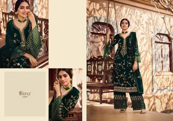 Fiona Navya 3 Latest Fancy Designer Wedding Wear Georgette Heavy Work Exclusive Designer Salwar Suits Collection