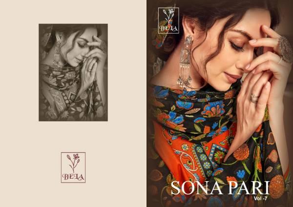Bela Sona Pari Vol 7 Latest Designer Printed Pure Cotton Dress Material Collection
