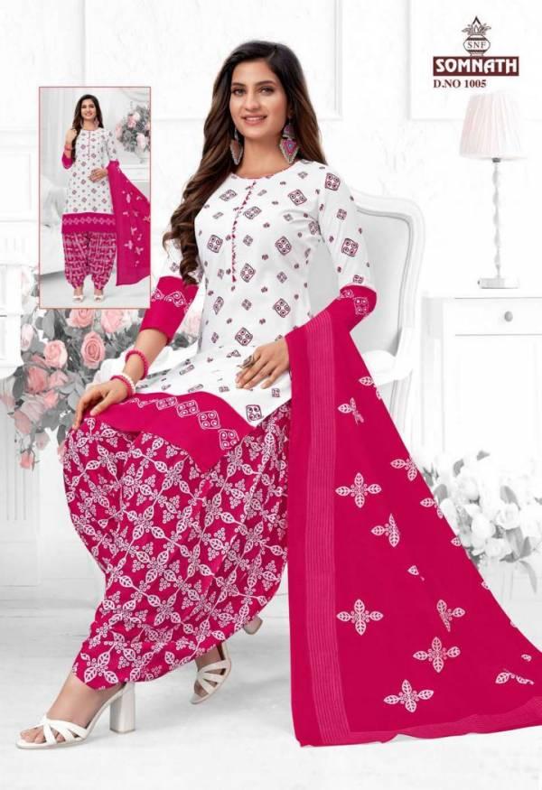 Somnath Sangini 1 Regular Wear Cotton Printed Readymade Dress Collection
