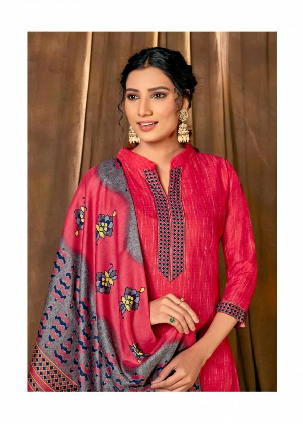 Shiv Gori Lado latest Fancy Heavy Casual Wear Heavy Indonesia Cotton with beautiful Gala tie on print Designer Dress Material Collection