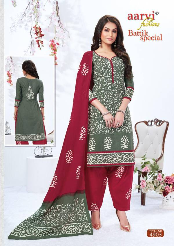 Aarvi Batik Special 13 Regular Wear Cotton Printed Ready Made Latest Collection