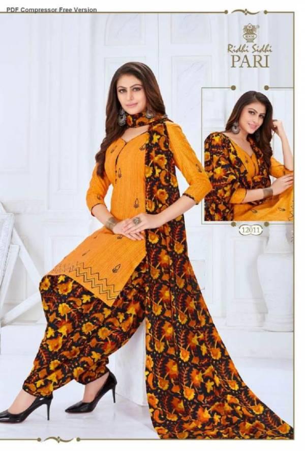 Ridhi Sidhi Pari 12 Designer Regular Wear Printed Stitched Salwar Suit Collection