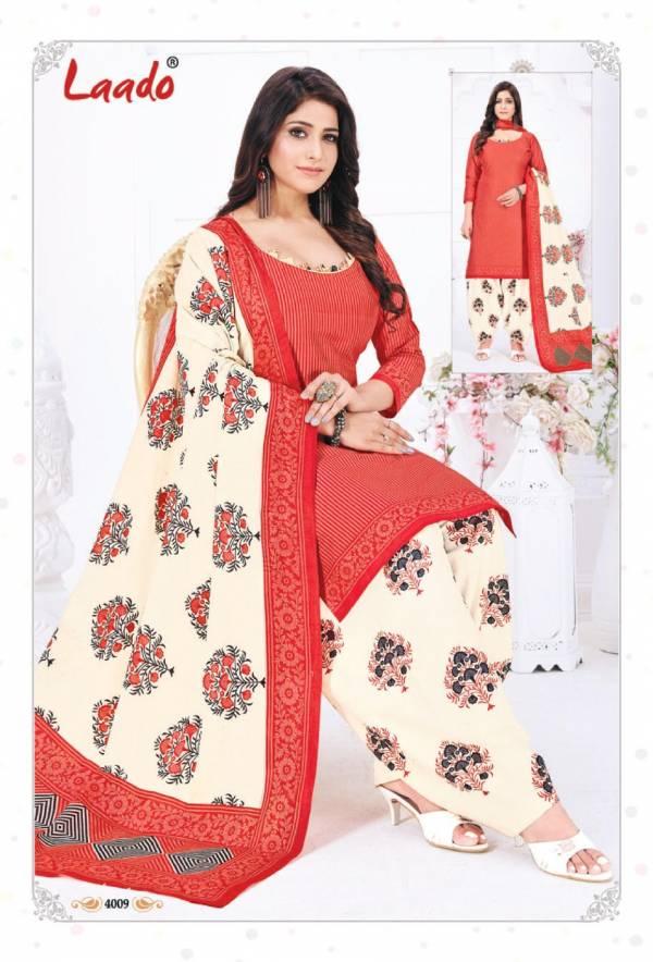 Laado Priti Patiyala Vol 4 Latest Designer Printed Pure Cotton Casual Wear Dress Material Collection