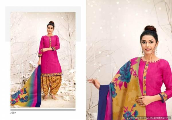 Latest Designer Printed Soft Cotton Dress Material With Cotton Dupatta