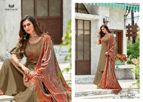 Siddhi Sagar Zainab Winter Wear Latest Designer Fancy Pashmina Collection