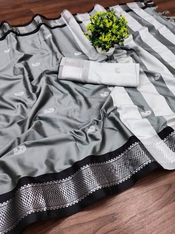 Maahi 27 Party Wear Banarasi Silk Designer Saree Collection