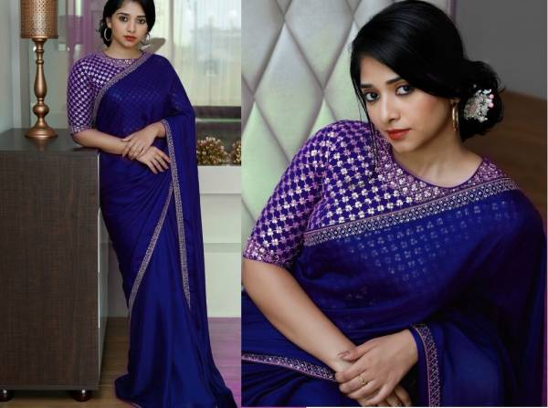 Latest Designer Bollywood Style Party Wear Saree Collection