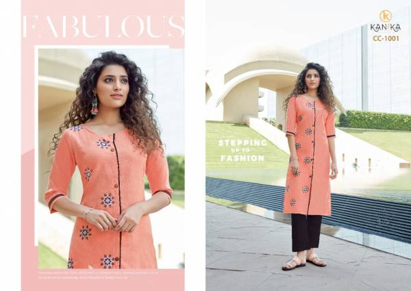 Kanika Cotton Candy Latest Designer Formal Wear Rubby Silk With Embroidery Work Kurtis With Bottom Collection