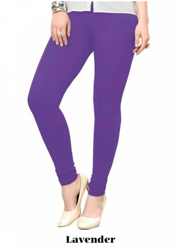 Regular Wear Cotton Plain Leggings Wholesale Collection