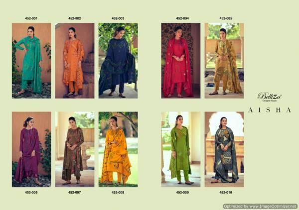Belliza Aisha Latest New Designer Casual Wear Pure Pashmina Digital Printed Collection
