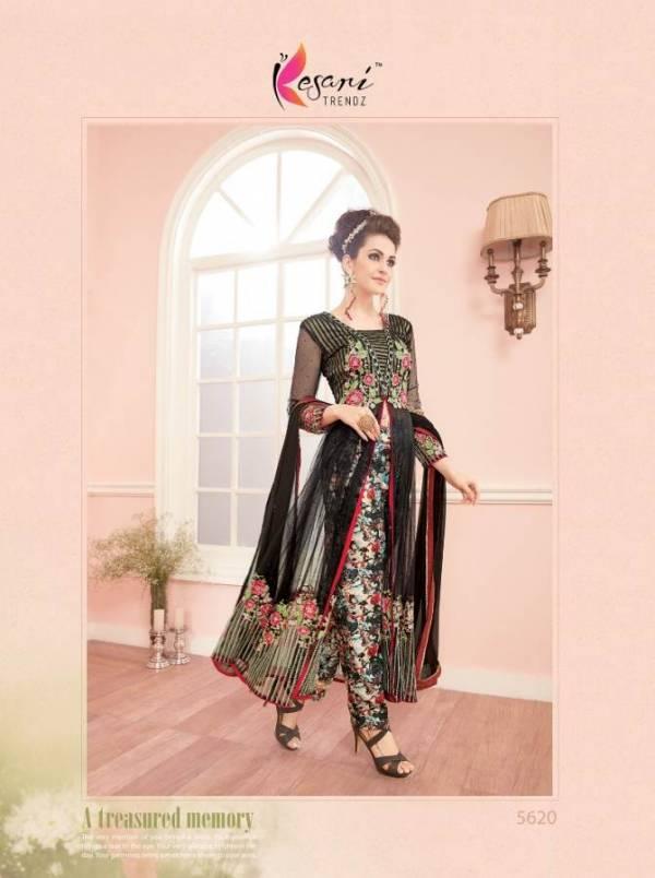 Kesari Kaia Vol-5 Fancy Designer Latest Heavy Festive Wear Pure Georgette Embroidery Work salwar Suit Collection