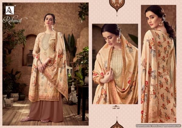 Alok Rehmat Latest Designer Pure Viscose Velvet Digital Print With Swarovski Diamond Work Salwar Suit Collection