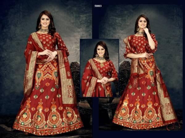 Navya 2 Exclusive Designer Banarasi Silk Festival Wear Lehenga Collection