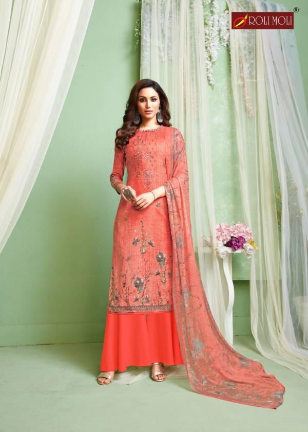 Roli Moli Kiara Latest Designer Printed Cotton Casual Wear Dress Material Collection