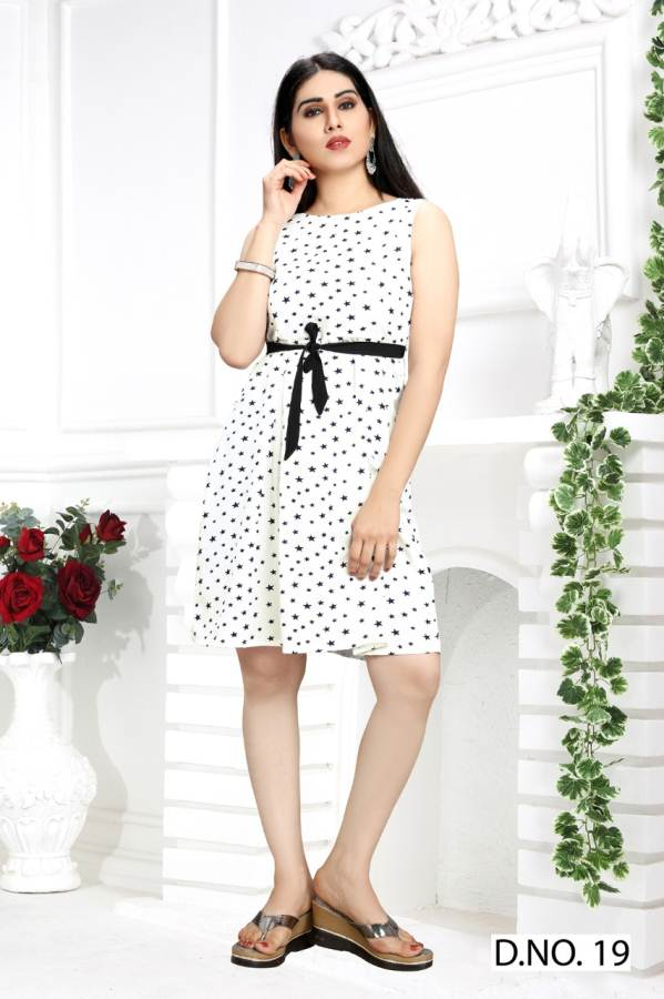 Latest Designer Digital Printed Casual Wear One Piece Collection