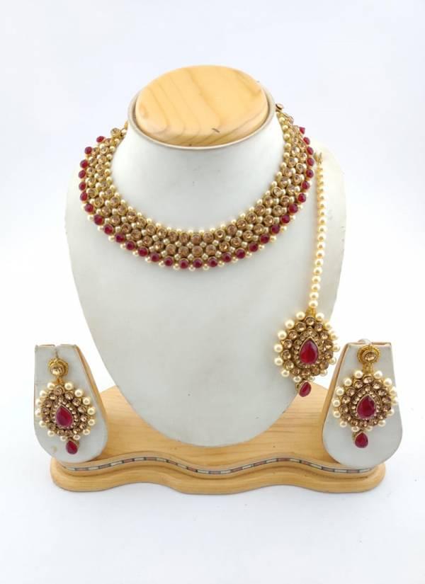 Heavy New Designer Special Stylish Bridal Wedding Necklace