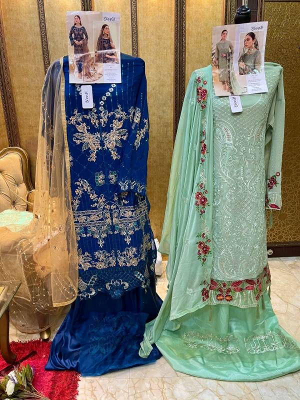 Noor Minhal 2 Premium Heavy Festive Wear Georgette Latest Designer Pakistani Salwar Kameez Collection