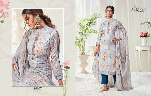 Alizeh Bliss Latest Designer Printed Cotton Dress Material Collection