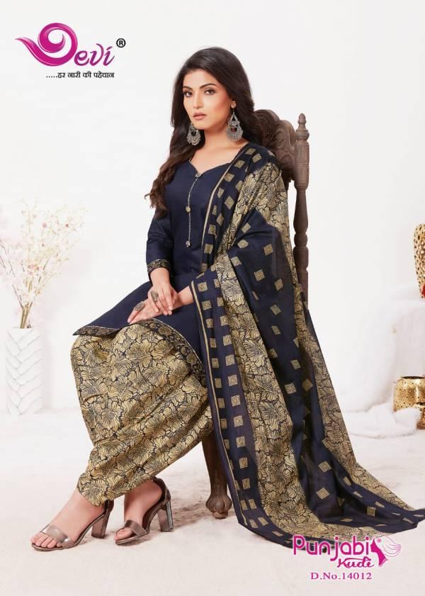 Devi Punjabi Kudi 14 Cambric Cotton Regular Wear Printed Latest Dress Material Collection