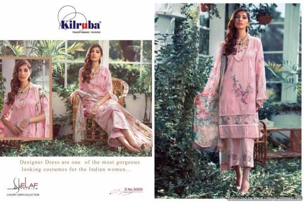 Kilruba Elaaf Latest Designer Fancy Pure Pure Cambric Cotton Pakistani Salwar Suit Collection