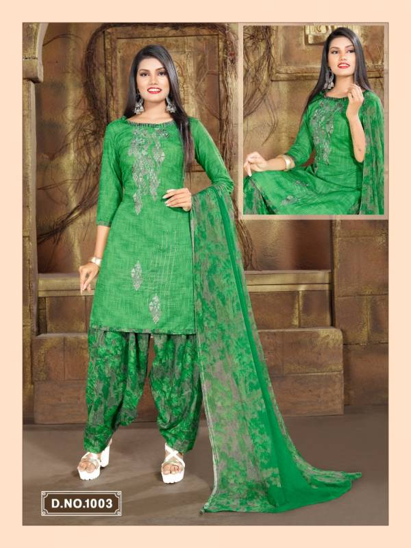 Jlf Behti Cotton Ready Made Dress Collection