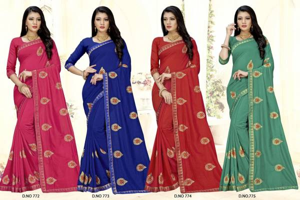 Kalista Bahubali Casual Wear Georgette Saree Collection