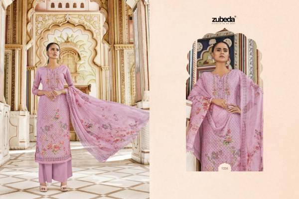 Zubeda Meher 2 Georgette Digital Printed Designer Dress Material