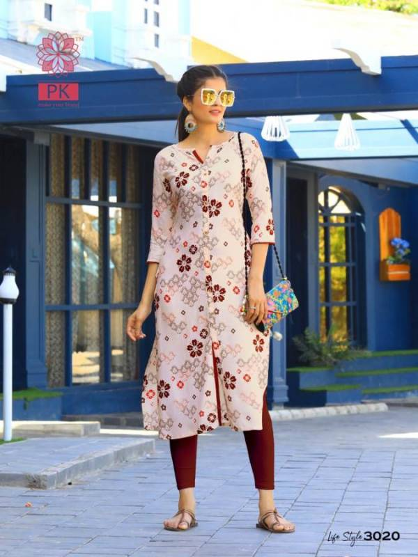 Aradhna Lifestyle 3 Heavy Rayon Casual Wear Kurti Collection