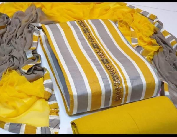 Rameshwari Designer Suits 1 Heavy Cotton Dress Material