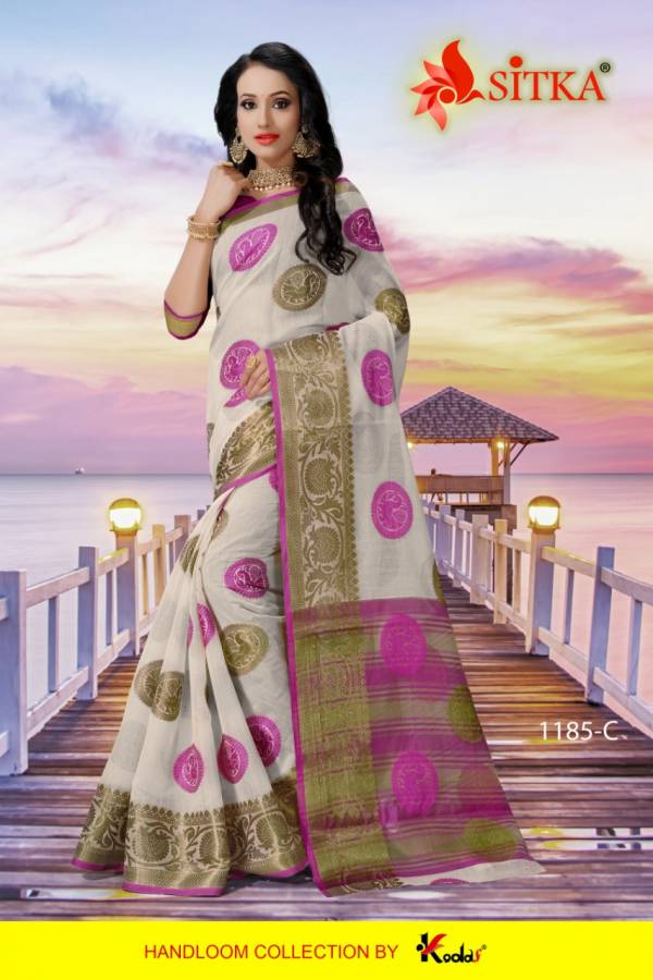 Mednapuri 1185 Poly Cotton Festive Wear Saree