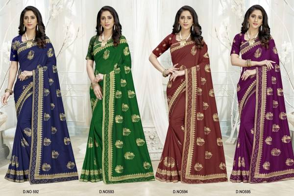 Kalista Ananya Party Wear Georgette Saree Collection