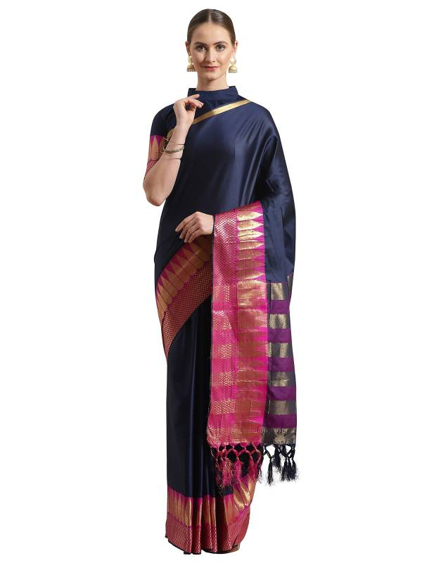 Vridha Party Wear Silk Blend Designer Saree