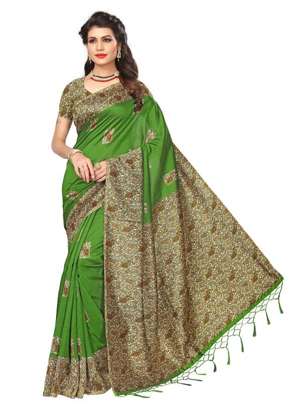 Divastri Casual Wear Art Silk Printed Saree Collection