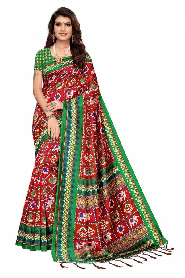 Apha Reloaded 2 Casual Wear Art Silk Saree
