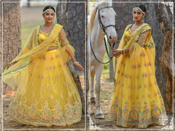 Peafowl 58 Stylish Look Heavy Designer Party Wear Wedding Wear Latest Lehenga Choli Collection