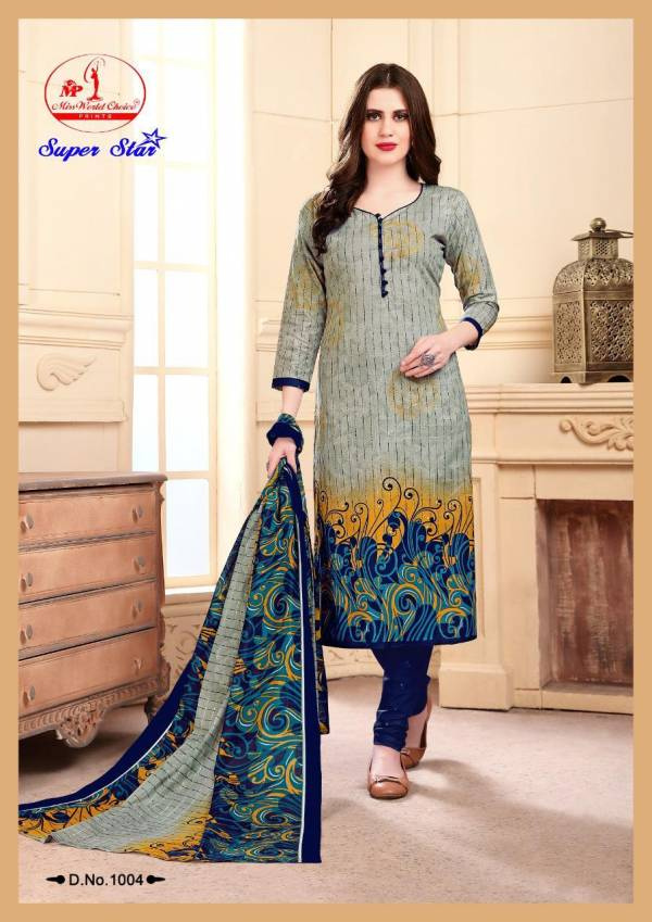 SUPAR STAR Vol 1 Pure Printed Cotton Designer Daily Wear Salwar Suit Collections