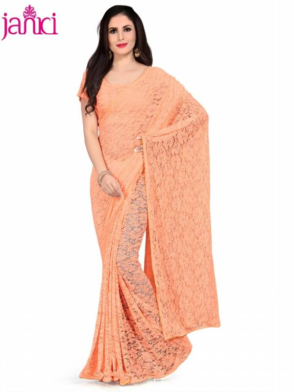 Full Net Designer Stylish Party Wear Saree Collection