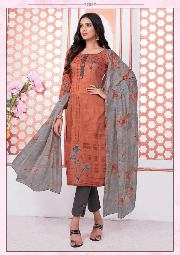 Miss World Choice Sania 5 Latest Fancy Regular Wear Printed Cotton Collection