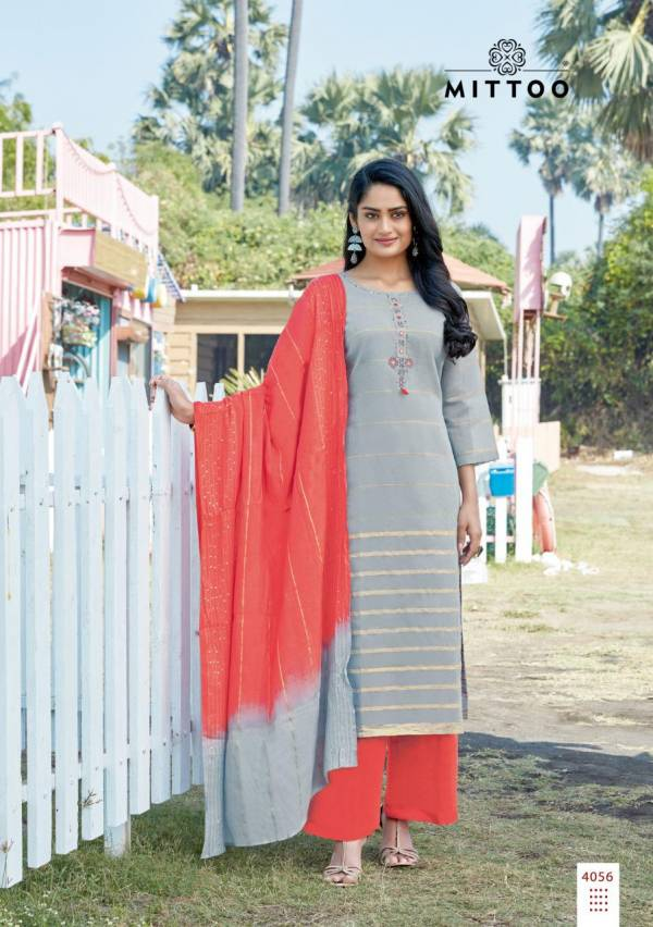 MITTOO MANOHARI VOL-3 Fancy Festive wear Heavy Designer Chanderi Jacquard  with Full Inner Readymade salwar Suit Collection