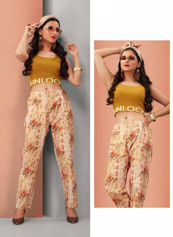 Latest Collection Of Fancy Flex Cotton Printed Pants