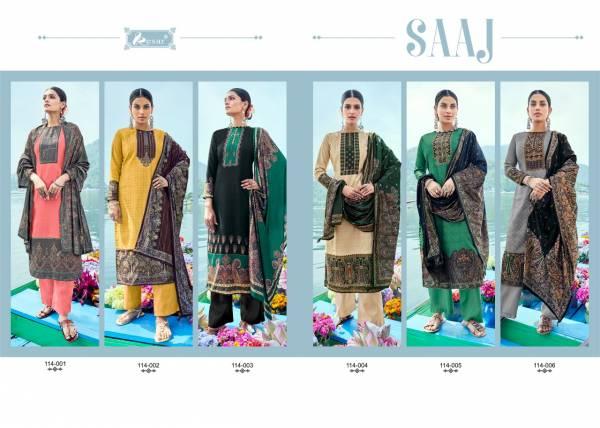 Kesar Saaj Viscose Pashmina Casual Wear Printed Dress Material Collection