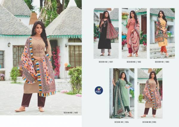 Vitara Star Link Fancy Festive Wear Rayon Ready Made Collection