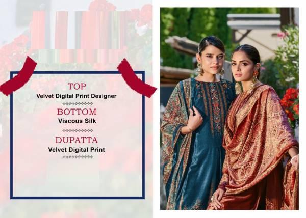 Tanishk Ashq Digital Print Velvet Festive Wear Designer Latest  Salwar Kameez Collection